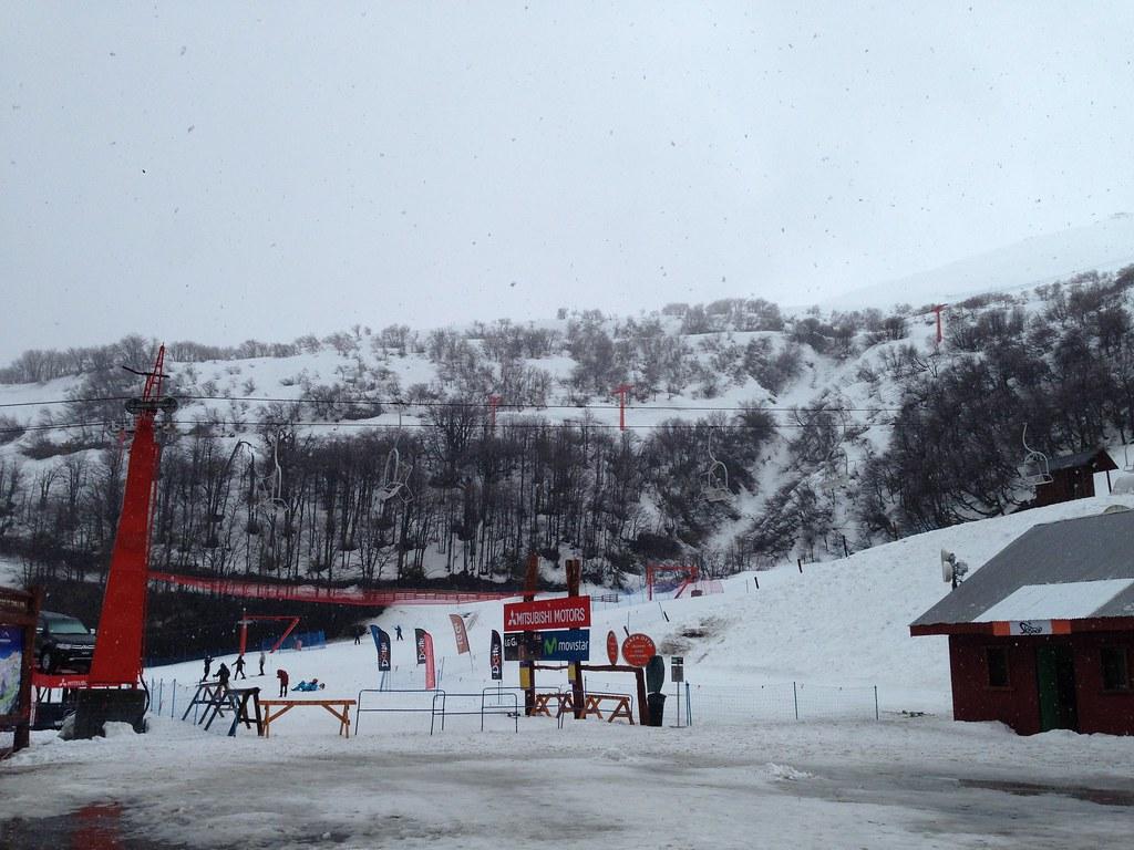 Plaza outside Otto Ski Area