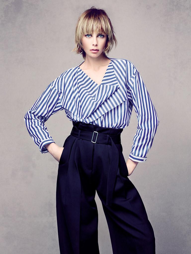 Эди Кэмпбелл — Фотосессия для «Vogue» CH 2015 – 10