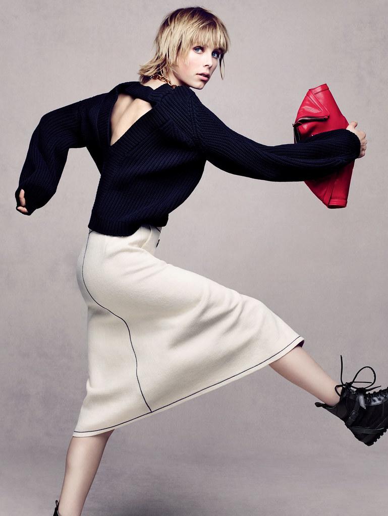 Эди Кэмпбелл — Фотосессия для «Vogue» CH 2015 – 4