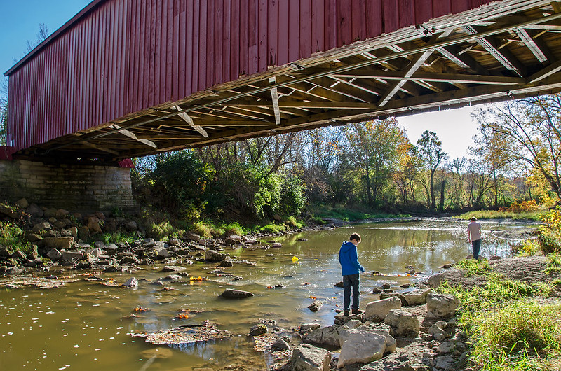 Under the Covered Bridge