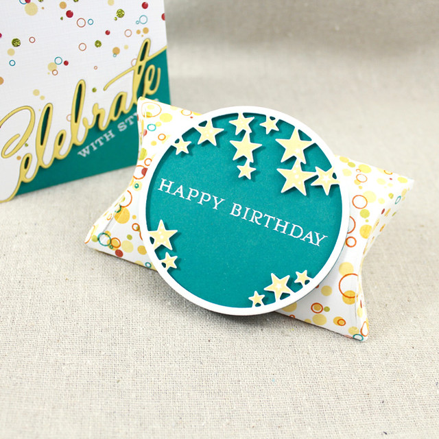 Confetti Pillow Box