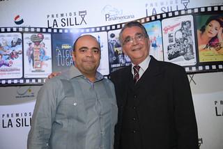 Omar de la Cruz y Pericles.Premios La Silla. Palacio Bellas Artes-14