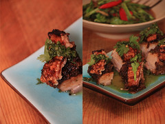Co's Slow Roasted Porkbelly in Prik Khing Sty…