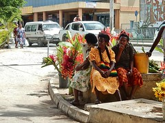 Market Ladies Having a Break