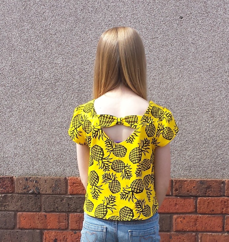 Simplicity 1625 top in cotton jersey from Darn Cheap Fabrics