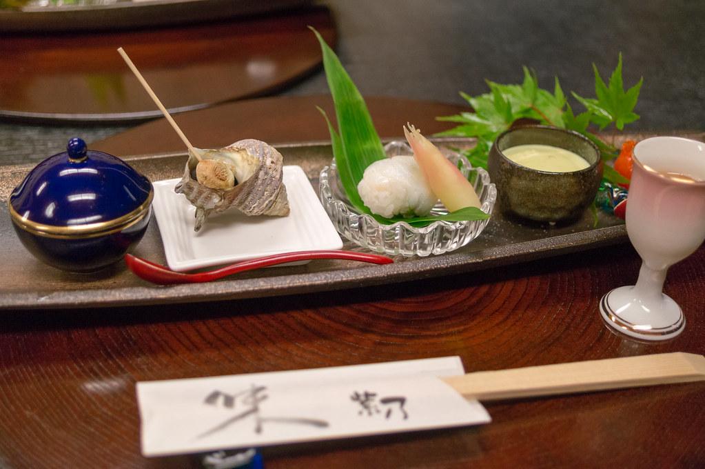 南山荘 紫乃、前菜