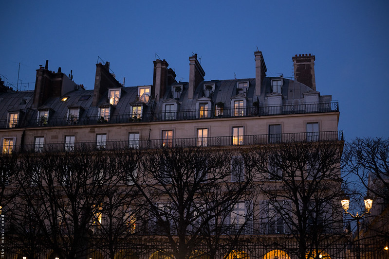 Evening in the Tuileries
