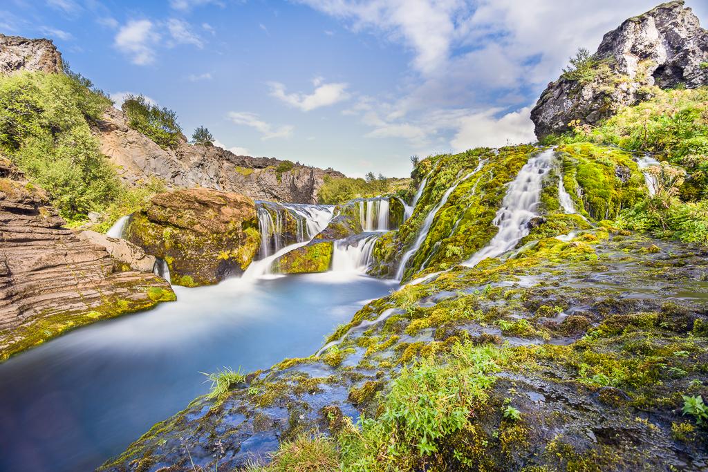 Gjáin Waterfalls