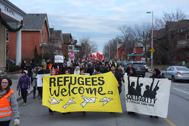 Refugees Welcome: Community March Against Islamophobia — Marche communautaire contre l'islamophobie