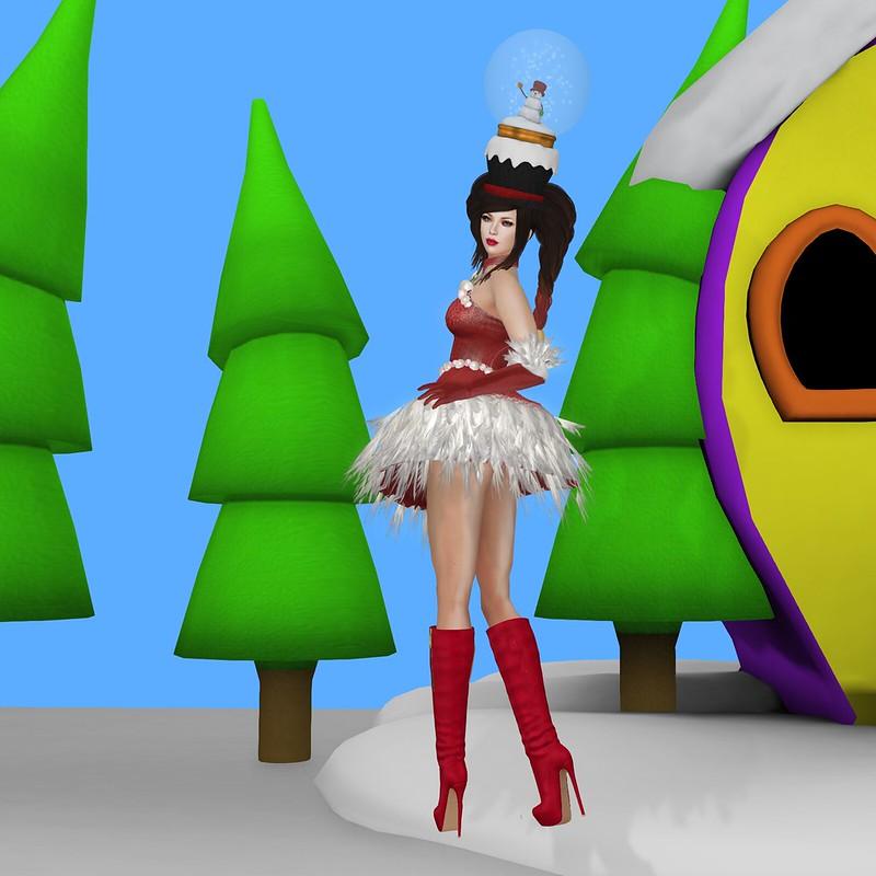Crazy Christmas--KittyCatS & Friends Advent Calendar, Day 17