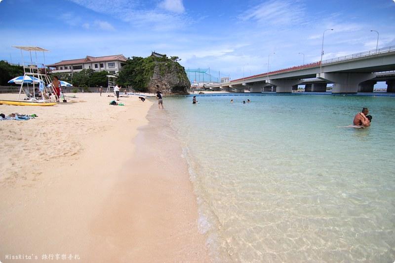 沖繩景點 那霸景點 沖繩海灘 波之上海灘 波之上神宮 那霸海灘 沖繩玩水 波の上ビーチ 波上宮0