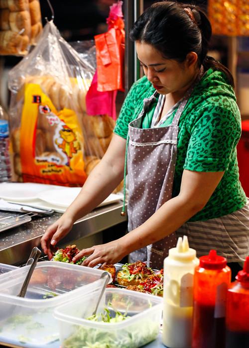 Burger mbira Damansara Utama