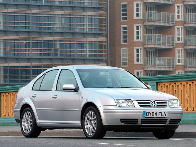 Volkswagen Bora для рынка Великобритании. 1998 – 2005 годы