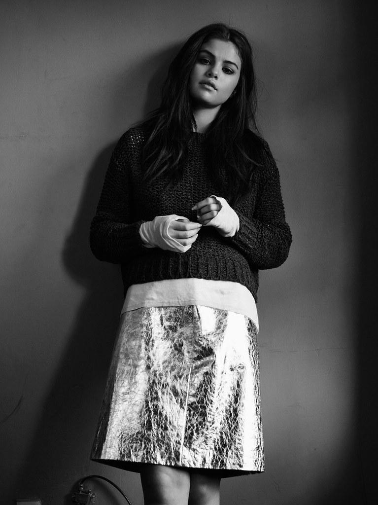 Селена Гомес — Фотосессия для «InStyle» UK 2015 – 7