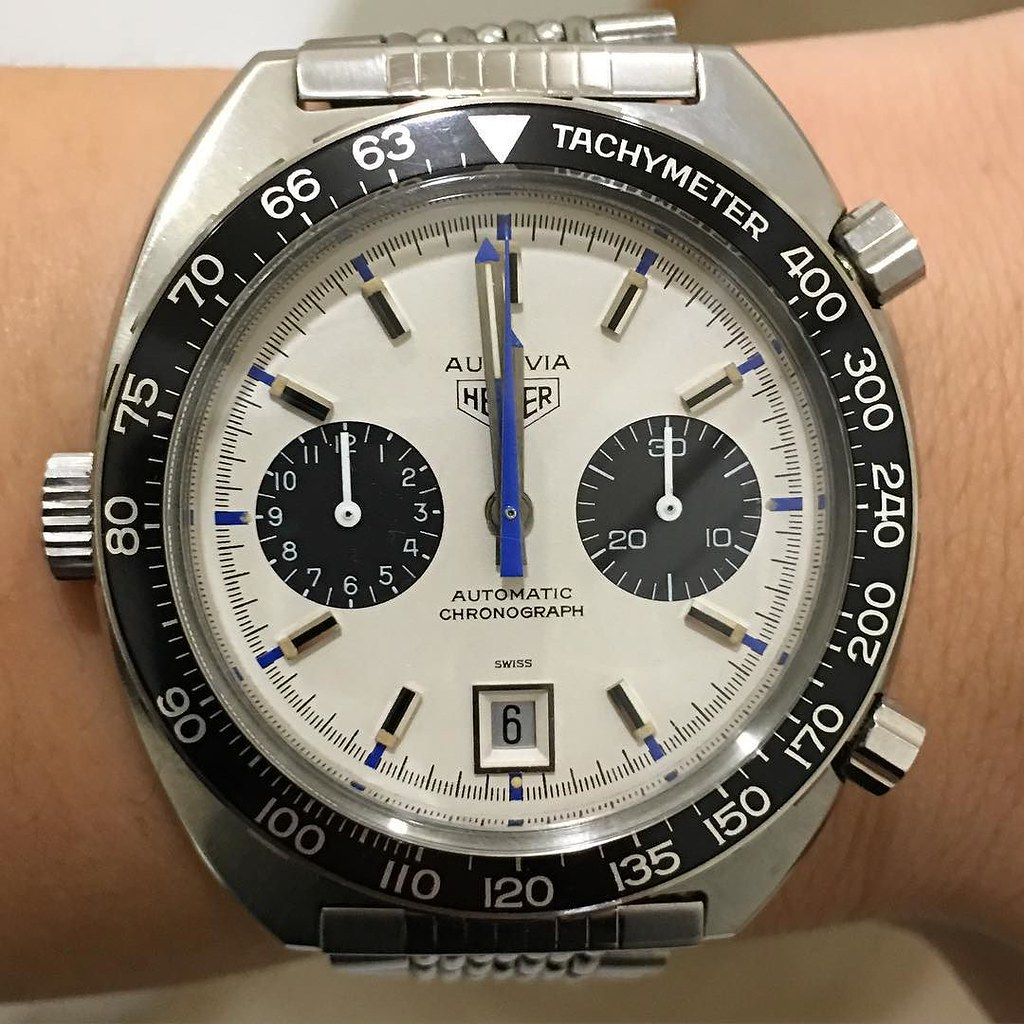As promised, the Siffert. Enjoy the count down. Happy New Year IG! 🎉👏🙏 #2016 #watcheswithpatina #heuer #autavia #1163T #watch #watches #mensfashion #menswear #menstyle #luxurywatch #luxury #watchfam #watchpic #watchnerd #watchdaily #watchma
