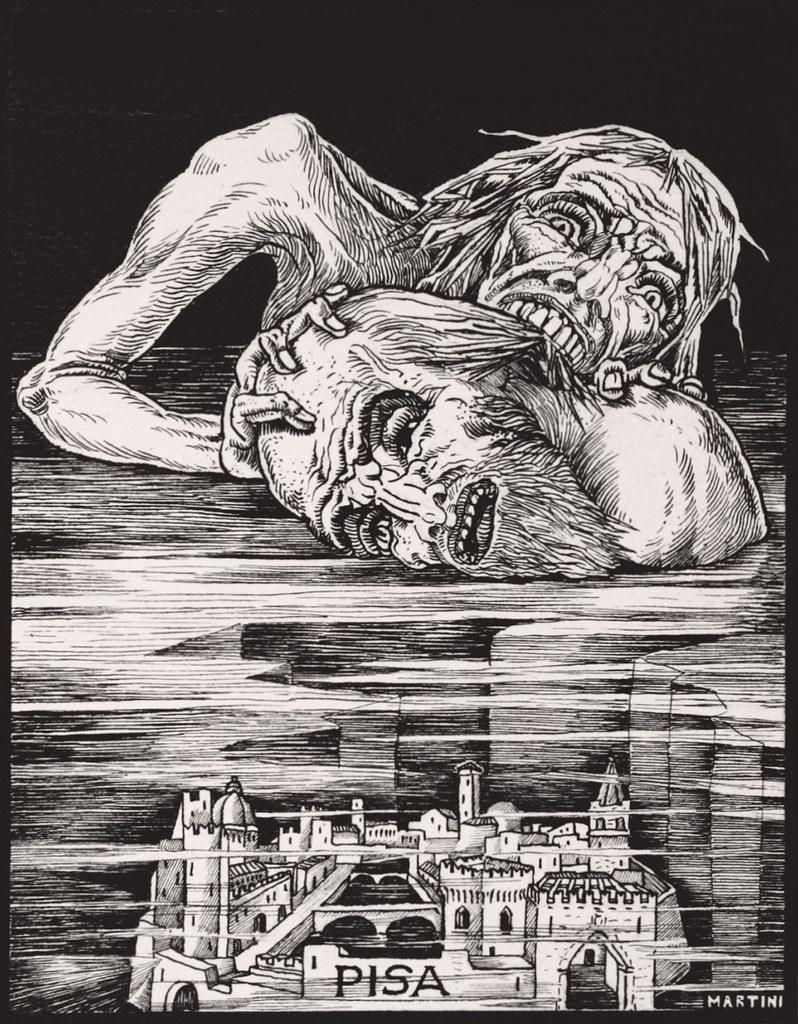 Alberto Martini, Inferno - XXII, 1937.