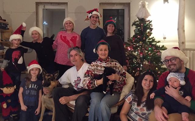 Christmas 2015 Family Photo
