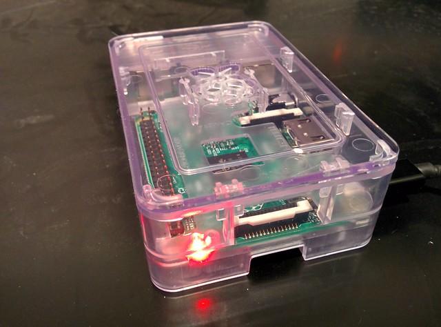 OS起動完了後のRaspberry Piの状態