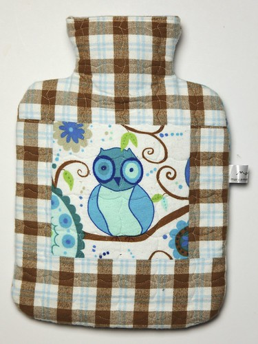 L's hot water bottle cover