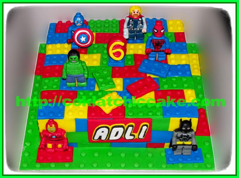 Cake Lego Movies