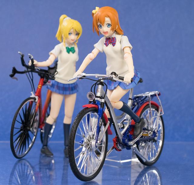 1/12自転車を集めてみた!  figma自転車/Maisto自転車レビュー