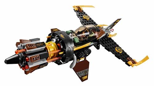 LEGO Ninjago 70747 Boulder Blaster 08