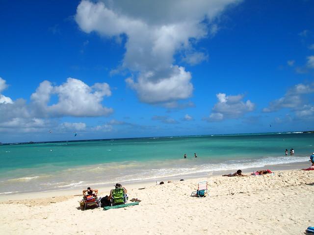 PB280391 Kailua Beach Park(カイルア・ビーチ・パーク) ハワイ