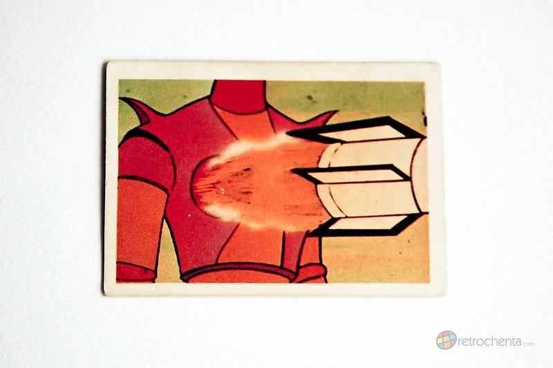 Mazinger Z - cromos Fher Afrodita A pechos fuera