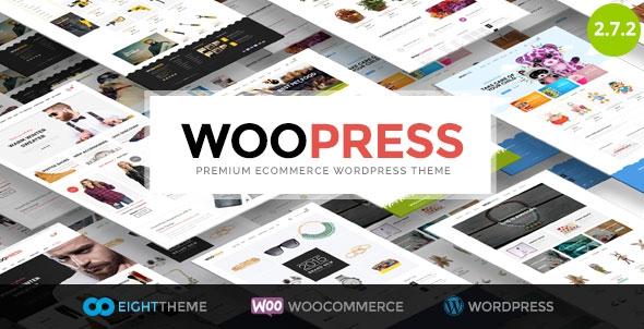 Themeforest WooPress v2.7.2 - Responsive Ecommerce WordPress Theme