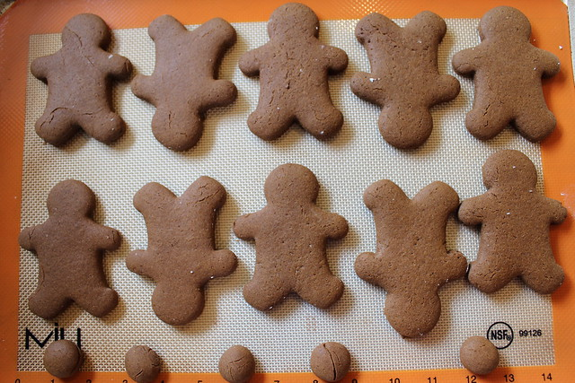 Cookies are done when the edges are firm, but not overcooked.
