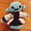 Finished I am. #Yoda #crochetstarwarstoy