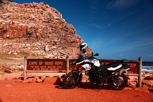 Afrique du Sud Moto