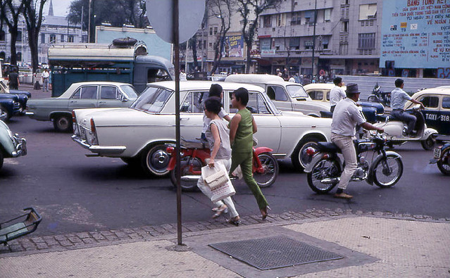 Saigon 1968 - Lam Son Square - Photo by John F. Cordova