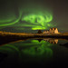 Aurora reflection (Explored 03.01.2016) by Ó.Guð