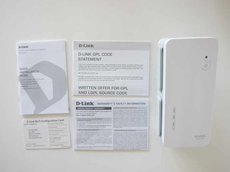 D-Link DAP-1860 - Box Contents