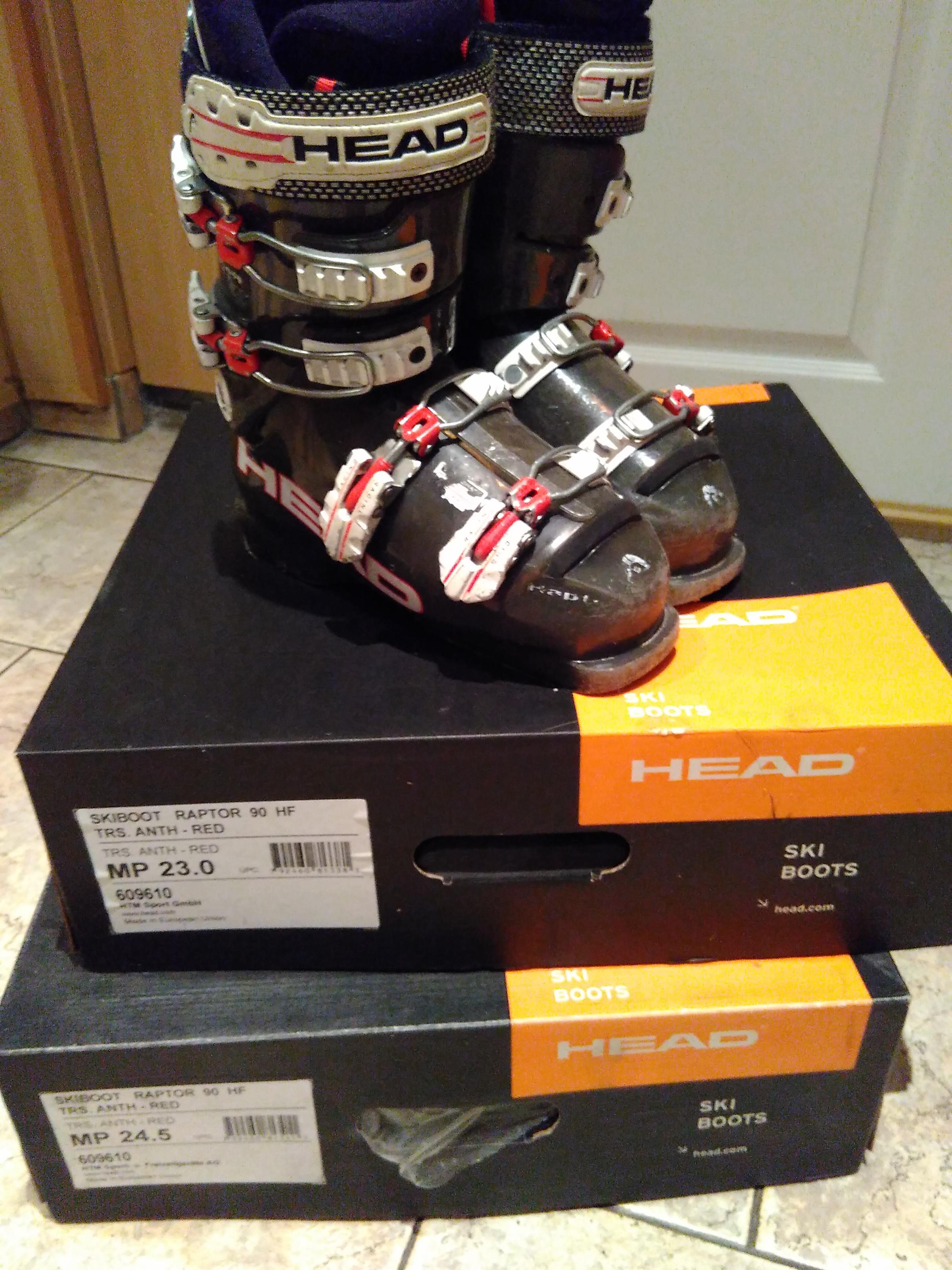 Závodní lyžařské boty Head - Bazar - SNOW.CZ 856cf0fab7