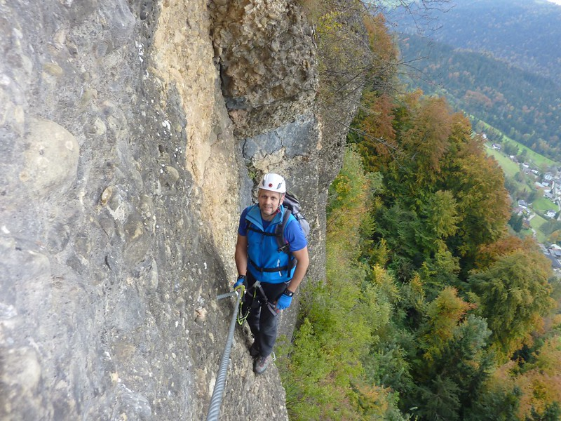 Klettersteig Bregenz : Känzele klettersteig else