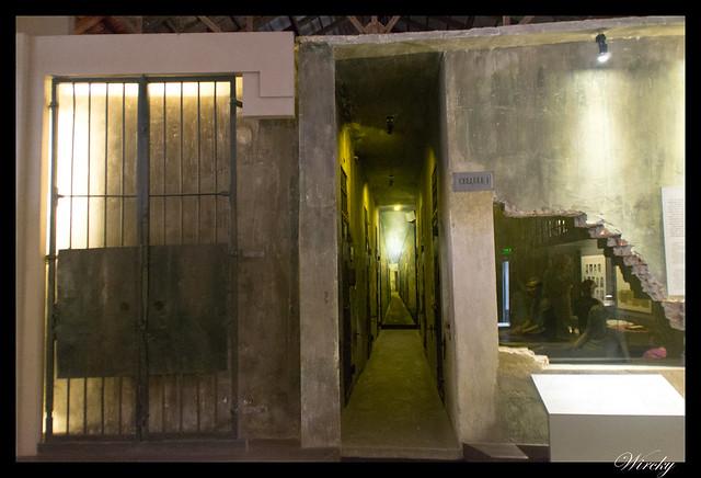 Viaje a Vietnam - Celdas de prisión Hoa Lu