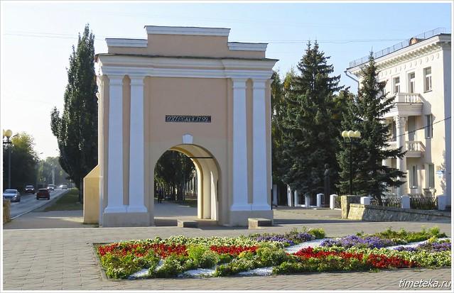 Тарские ворота. Омск