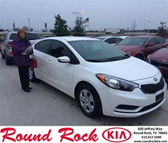 #HappyBirthday to Katheran from Ruth Largaespada at Round Rock Kia!