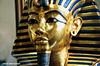 THE GOLD MASK OF TUTANKHAMUN, CAIRO MUSEUM.