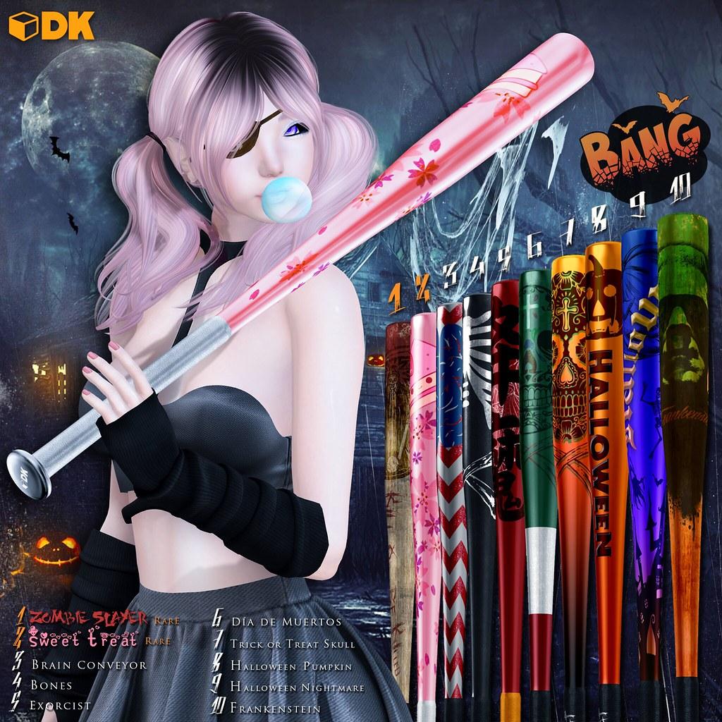 [DK] baseball bat Gacha - SecondLifeHub.com