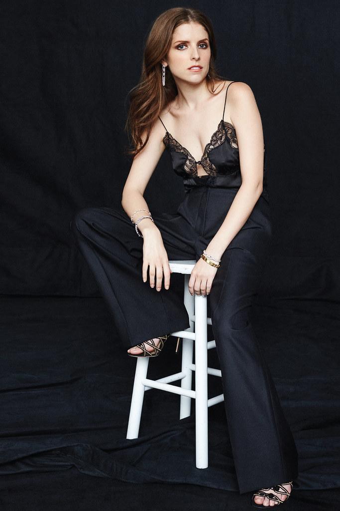 Анна Кендрик — Фотосессия для «Elle» 2016 – 1