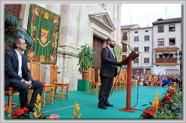 Briviesca en Fiestas 2.015 Proclamación de las Reinas y lectura del Pregón (10)