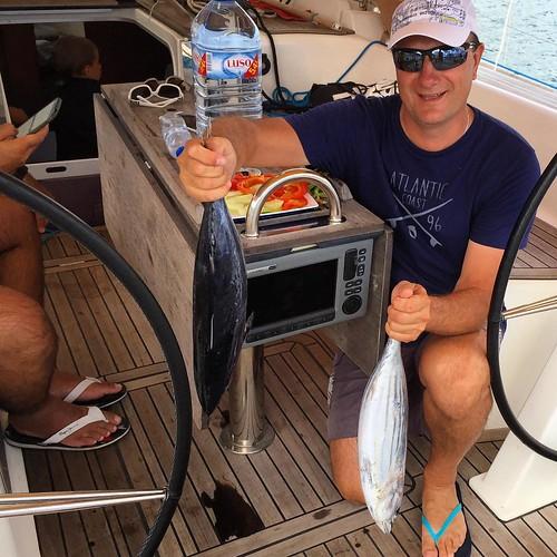 Свеже выловленный Атлантический тунец - его п океане очень много #Atlantic #Ocean #Azores #SunMigel #yachtschool #sailing #sailingschool #yacht #yachting #яхтдрим #яхтинг #яхтклуб #yachtlife #яхты #sailingboat