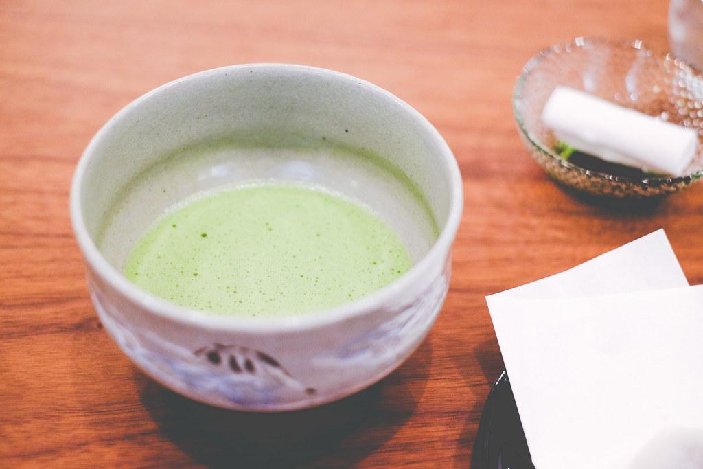 Hashida Garo: tea master's matcha