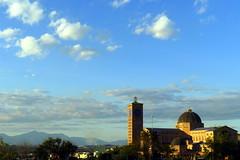Entardecer na Basílica de Nossa Senhora Aparecida
