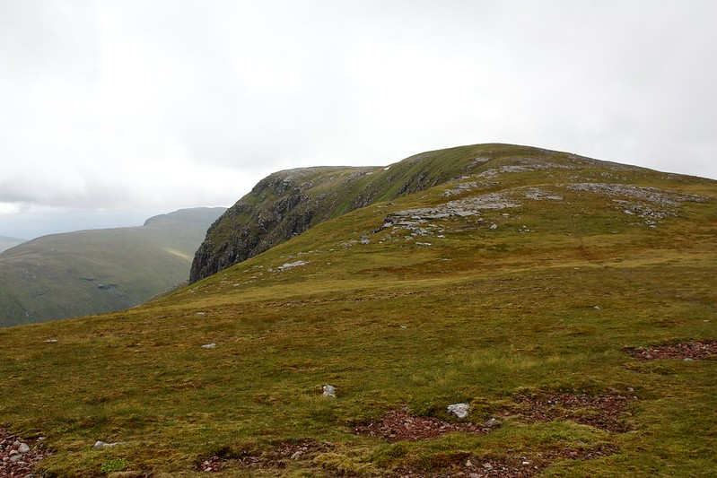 East side of Meall Garbh