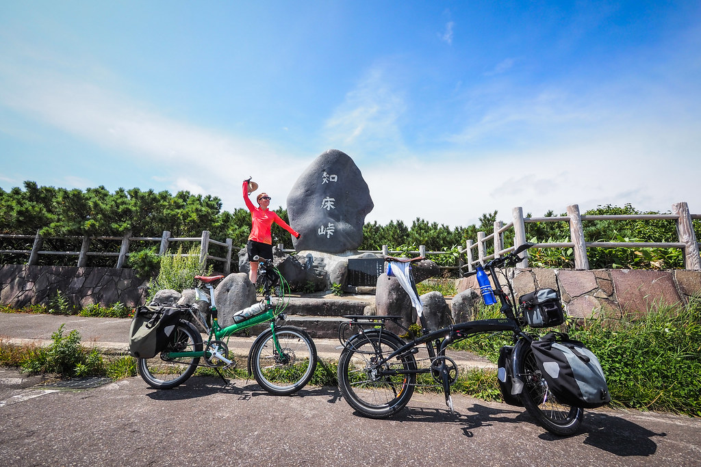 Camper-cycle hybrid tour of eastern Hokkaido, Japan