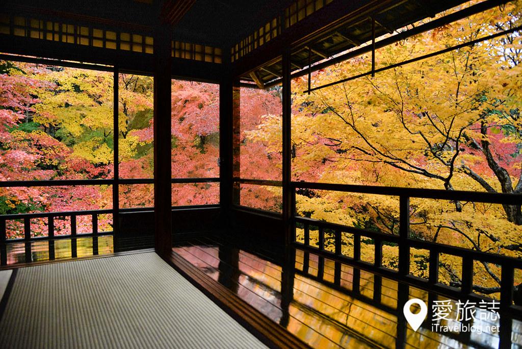 京都赏枫景点 琉璃光院 21